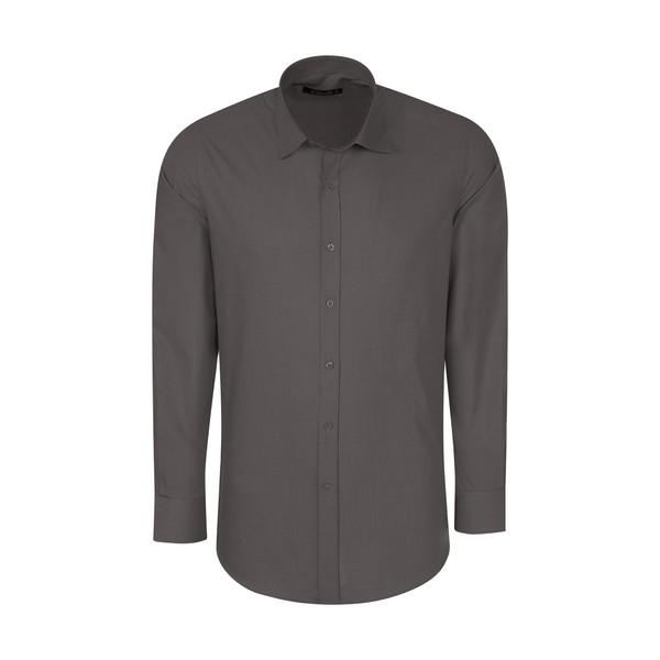 پیراهن آستین بلند مردانه کیکی رایکی مدل MBB2399-096
