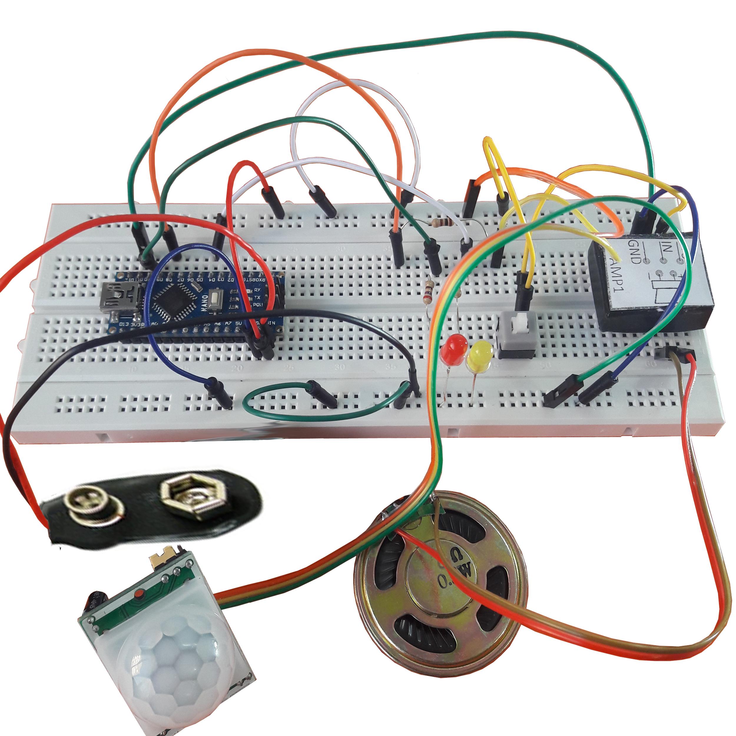 خرید اینترنتی                         کیت مونتاژ شده سرگرمی الکترونیک سخنگوی هوشمند اتاق برند مهندسیکا AT0078             با قیمت مناسب