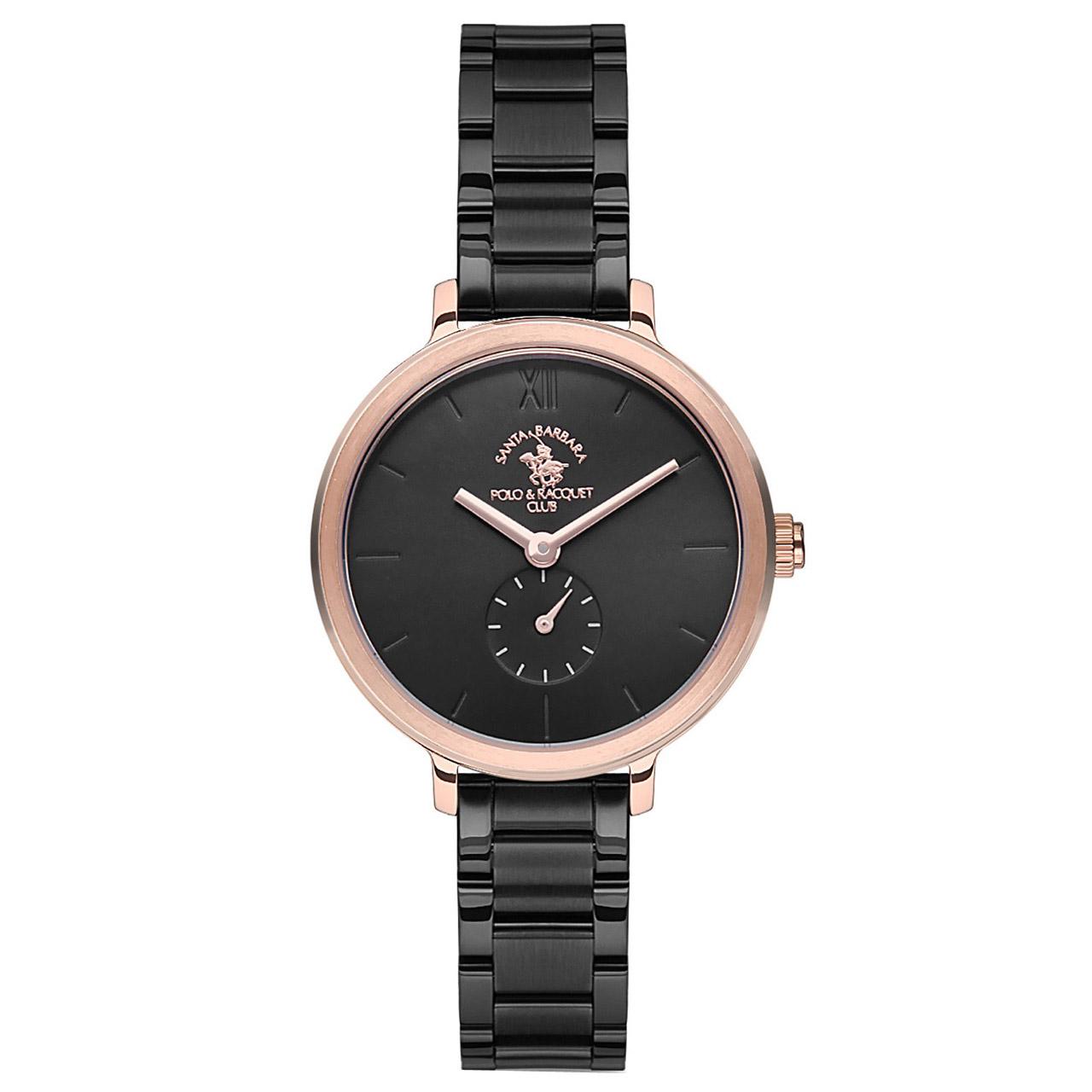 خرید ساعت مچی عقربه ای زنانه سانتا باربارا مدل sb.5.1164.8