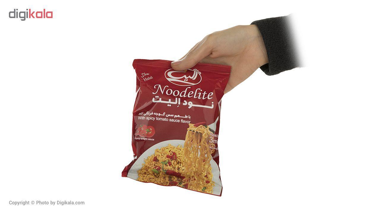 نودالیت با طعم سس گوجه فرنگی تند الیت مقدار 75 گرم main 1 4