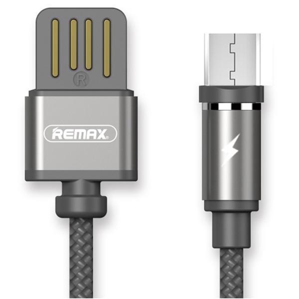 کابل مغناطیسی USB به  MicroUSB ریمکس مدل RC-095m به طول 1 متر