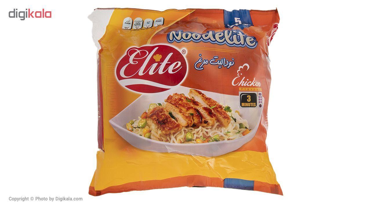 نودالیت با طعم مرغ الیت مقدار 75 گرم بسته 5 عددی main 1 1