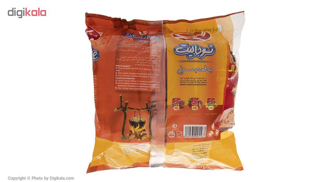 نودالیت با طعم مرغ الیت مقدار 75 گرم بسته 5 عددی main 1 2
