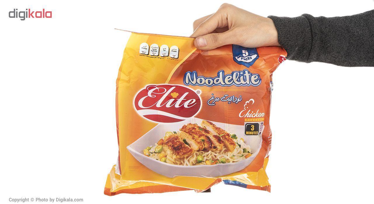 نودالیت با طعم مرغ الیت مقدار 75 گرم بسته 5 عددی main 1 4