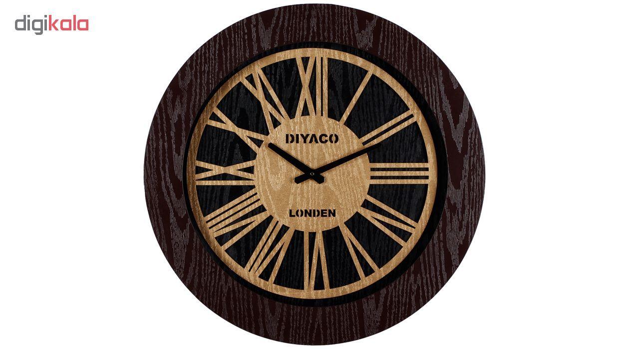 ساعت دیواری دیاکو کد DELGHT-405