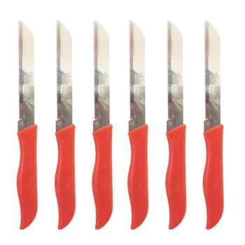 چاقو اره ای مدل آلمانی مجموعه 6 عددی به همراه جا کلیدی برج ایفل