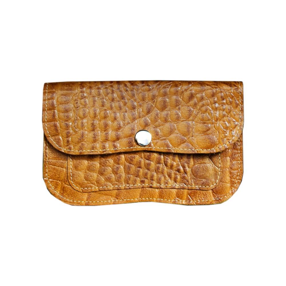 کیف پول زنانه چرم بیسراک مدل لامین کد KPZ-203