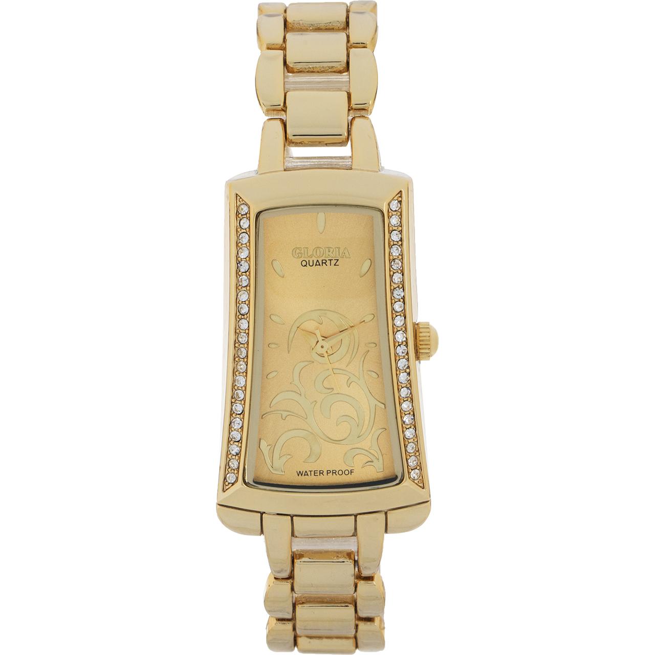 خرید ساعت مچی عقربه ای زنانه گلوریا مدل Radin
