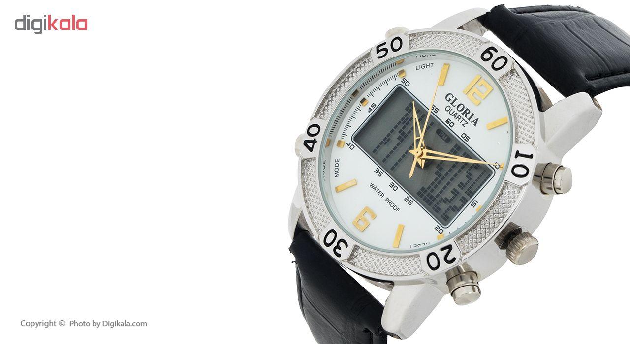 خرید ساعت مچی عقربه ای مردانه گلوریا مدل C1
