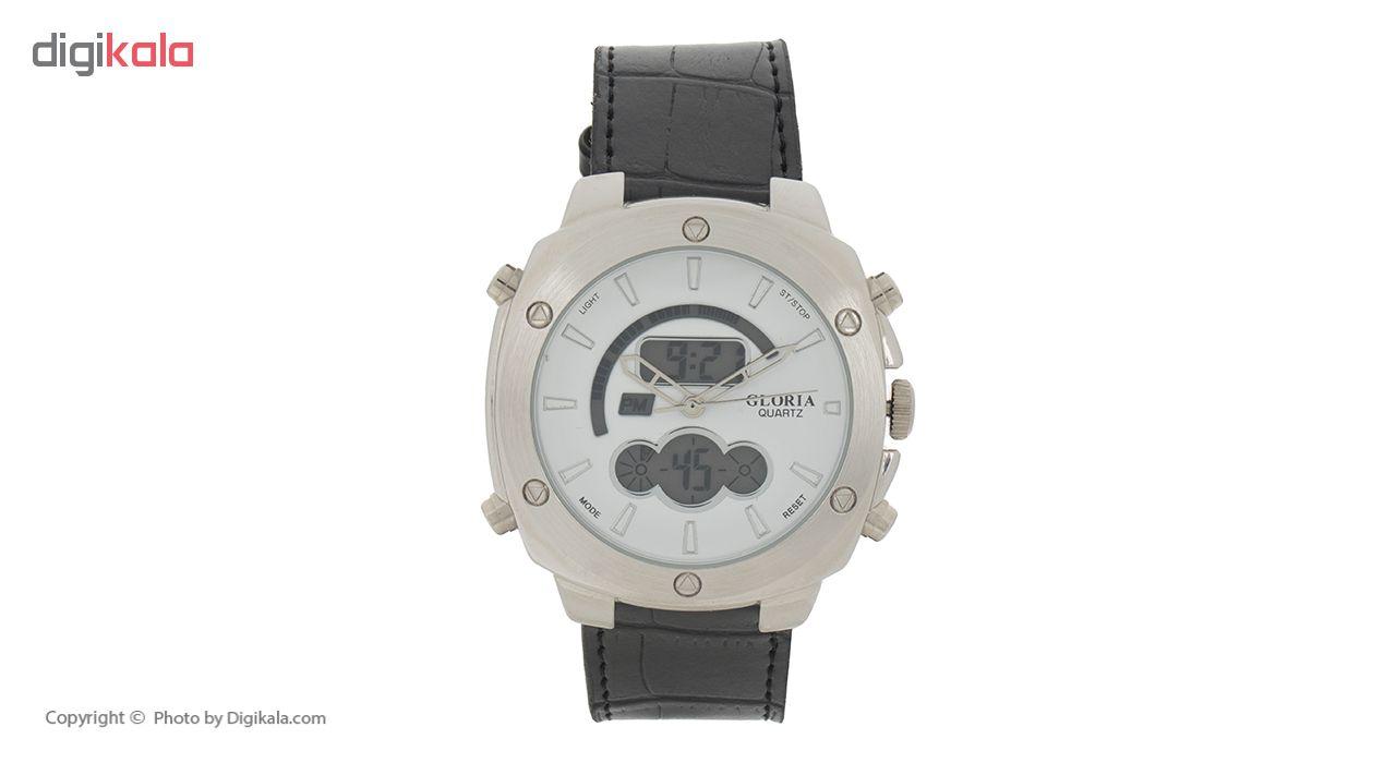خرید ساعت مچی عقربه ای مردانه گلوریا مدل E1