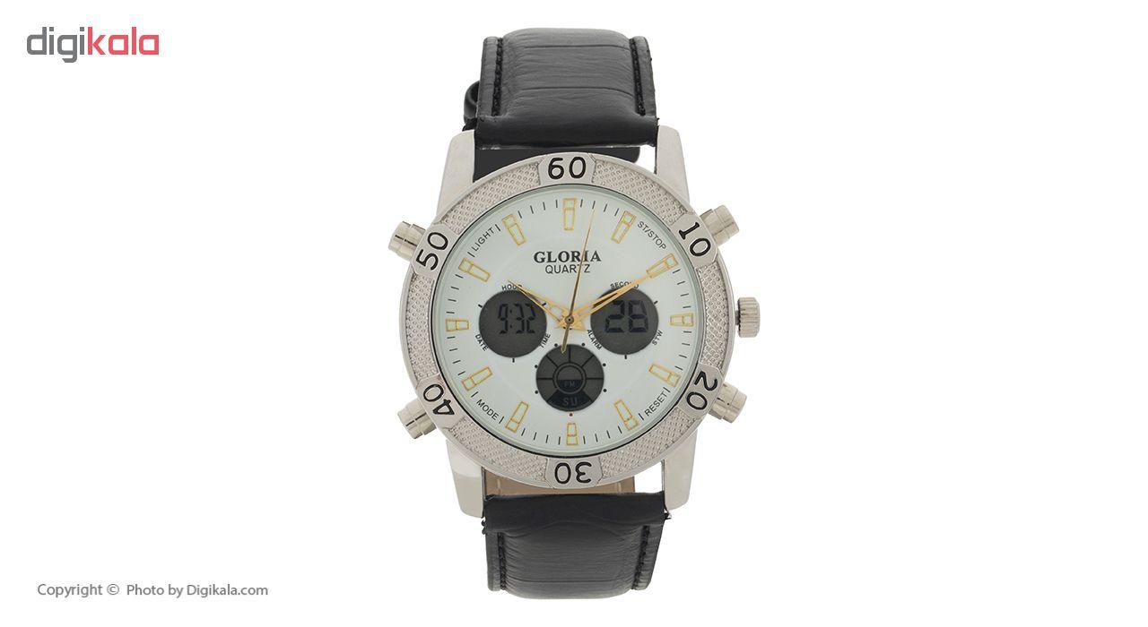 ساعت مچی عقربه ای مردانه گلوریا مدل G1