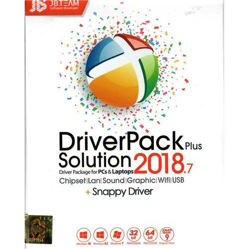 نرم افزار Driver Pack Solution 2018 Pluse  نشر جی بی تیم
