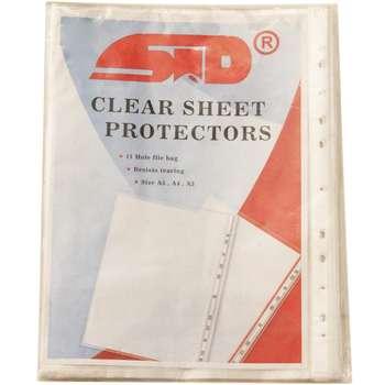کاور کاغذ اس تی دی سایز A4 بسته 100 عددی