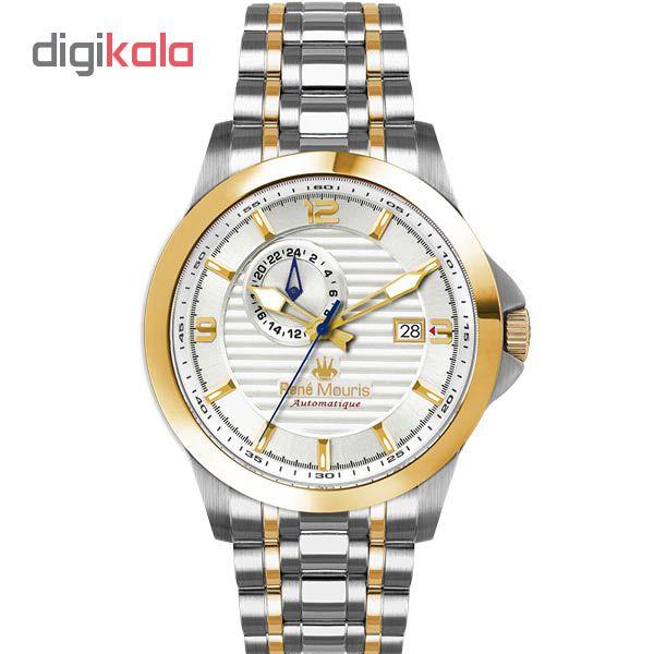 خرید ساعت عقربه ای مردانه رنه موریس مدل Cygnus 70104 RM5
