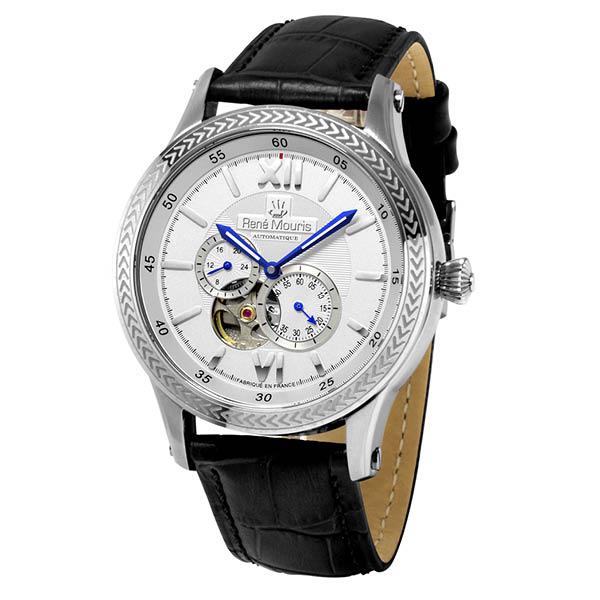 کد تخفیف                                      ساعت عقربه ای مردانه رنه موریس مدل Corona 70105 RM1