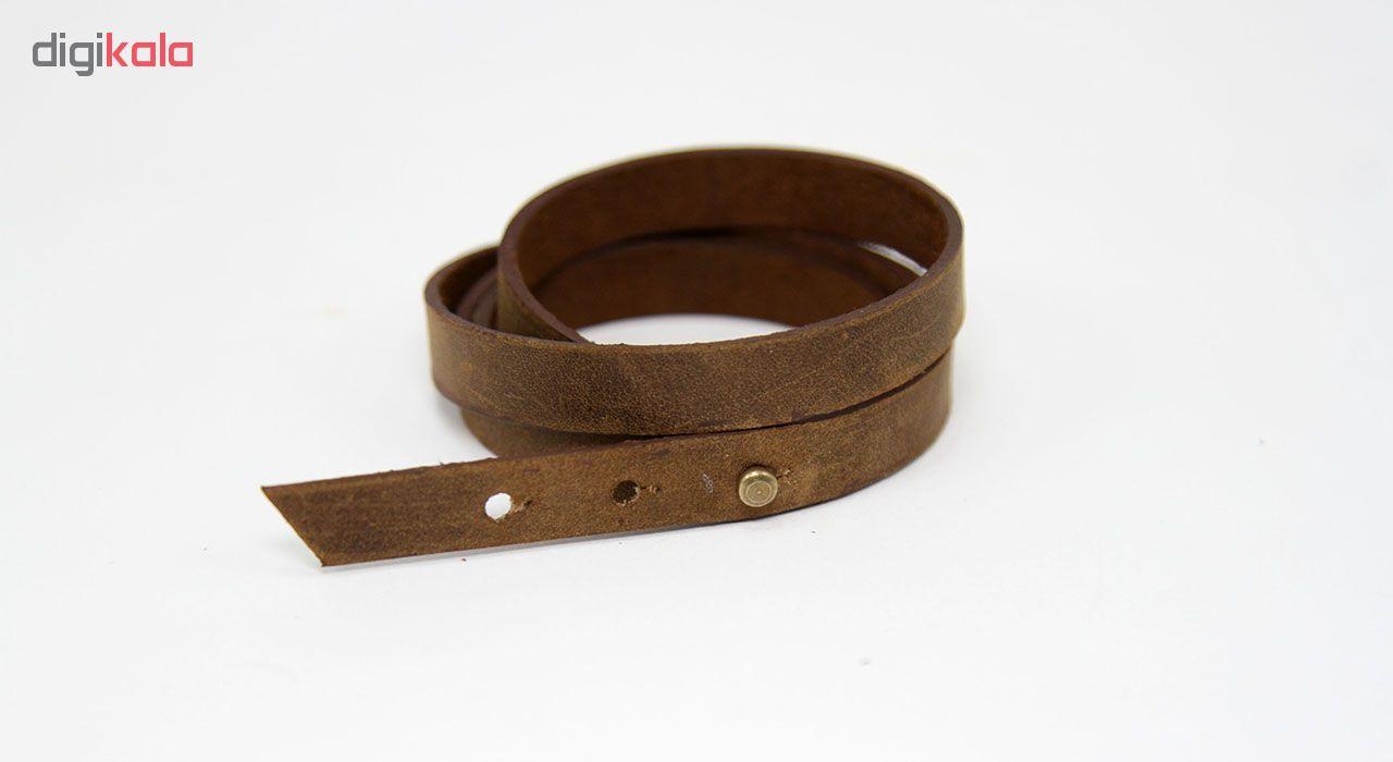 دستبند چرم لانکا مدل BB-6