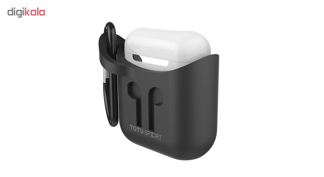 کاور توتواسپورت مدل  CRG01 مناسب برای کیس اپل Airpod main 1 1