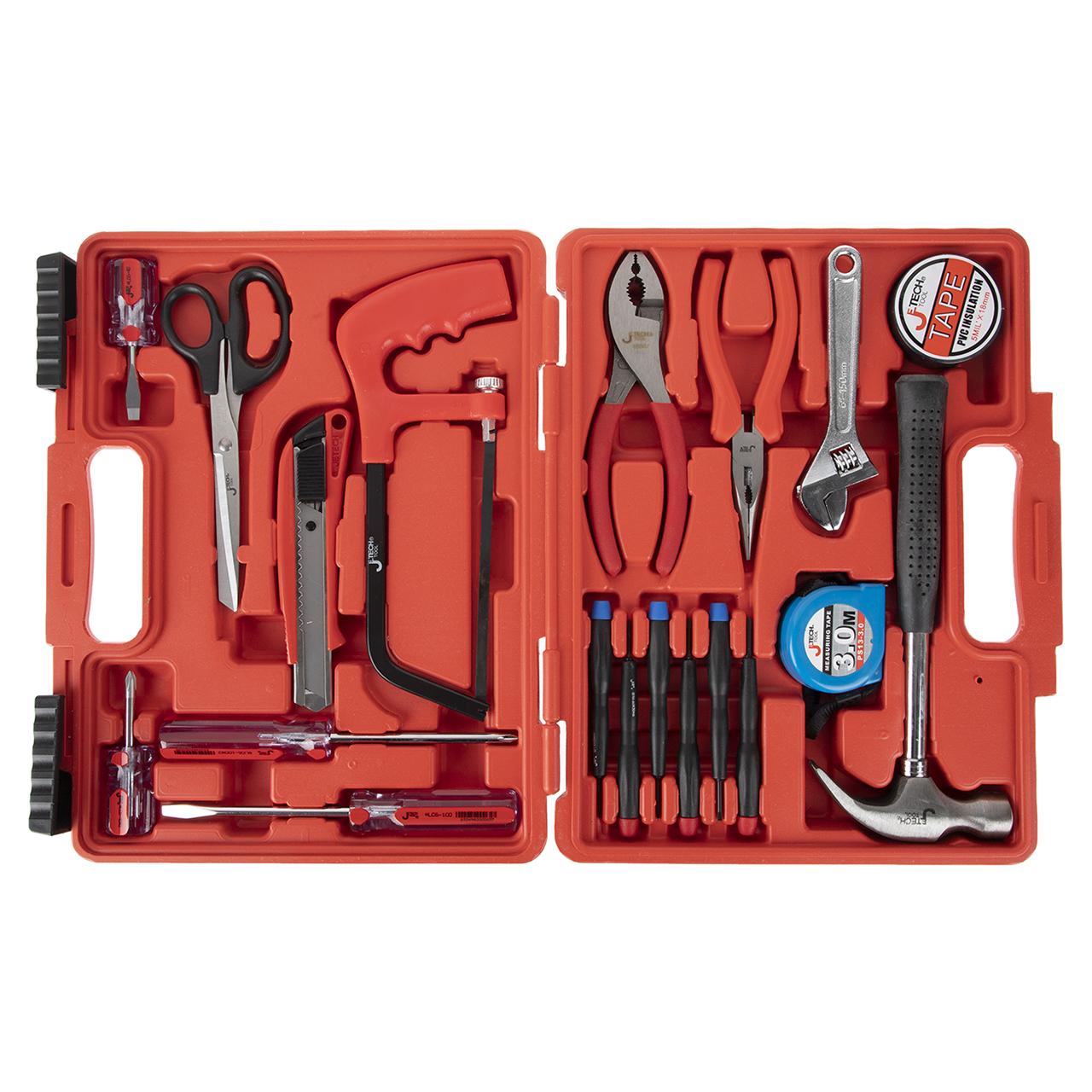 مجموعه 19 عددی ابزار جتک مدل JEB-F19