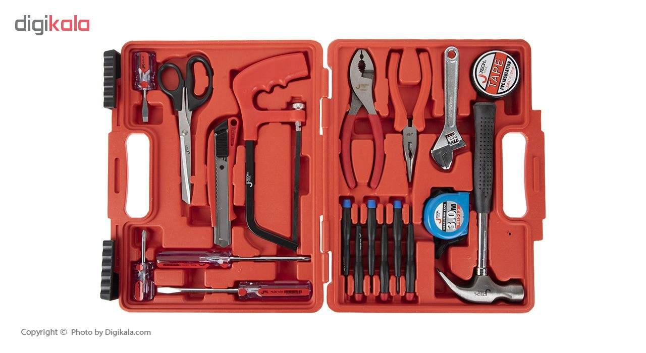 مجموعه 19 عددی ابزار جتک مدل JEB-F19 main 1 1