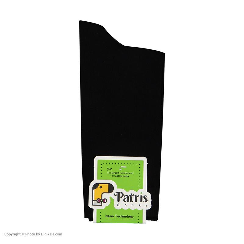 جوراب سوپر نانو مردانه پاتریس مدل 302002 بسته 3 جفتی