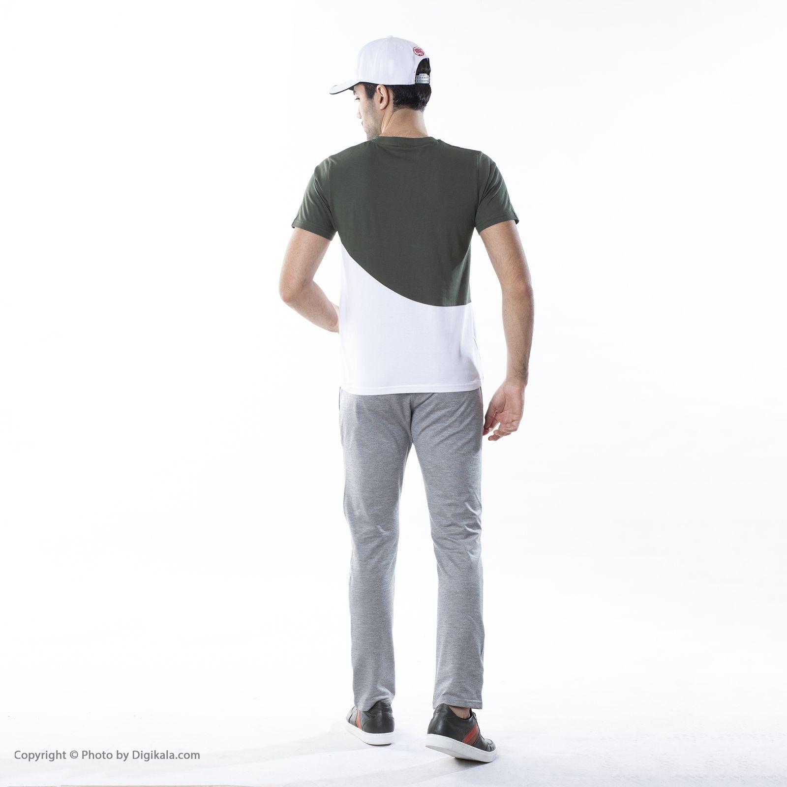 تی شرت ورزشی مردانه بی فور ران مدل 210314-4301 -  - 4