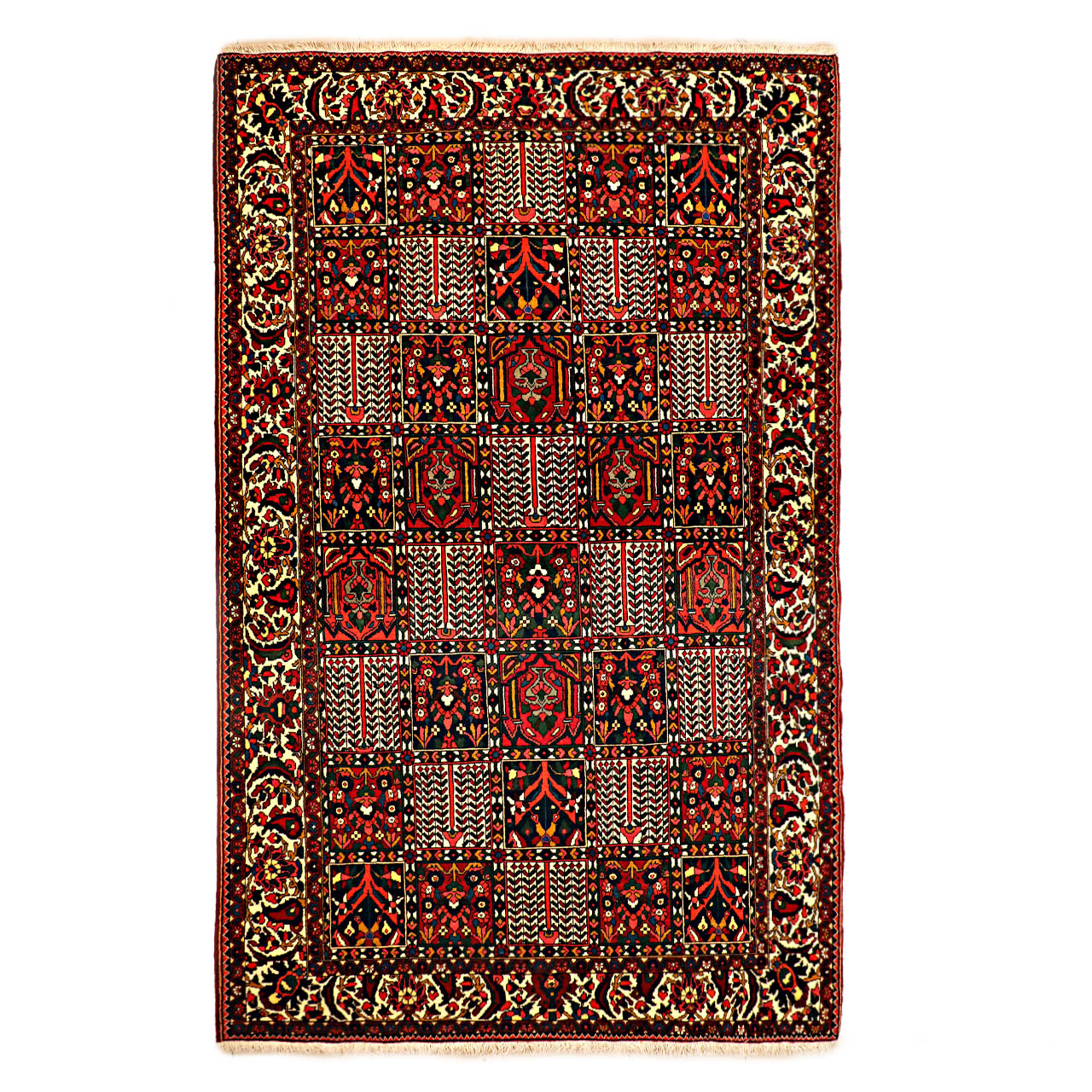 فرش دستبافت شش و نیم متری کد  galler noor 1671