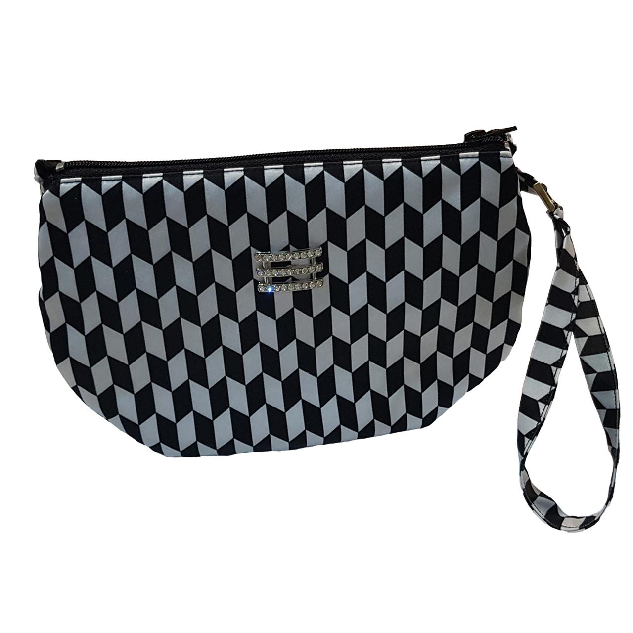 کیف دستی زنانه طرح لوزی کد 024