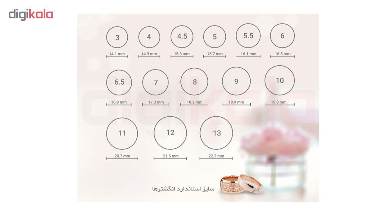 انگشتر زنانه بهارگالری طرح حرف R main 1 7