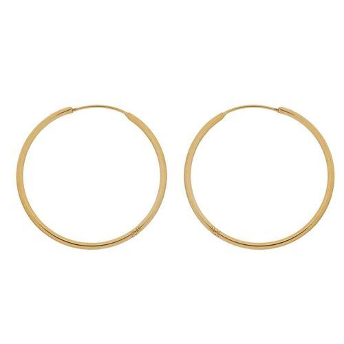 گوشواره طلا 18 عیار گالری گل سرخ مدل 100