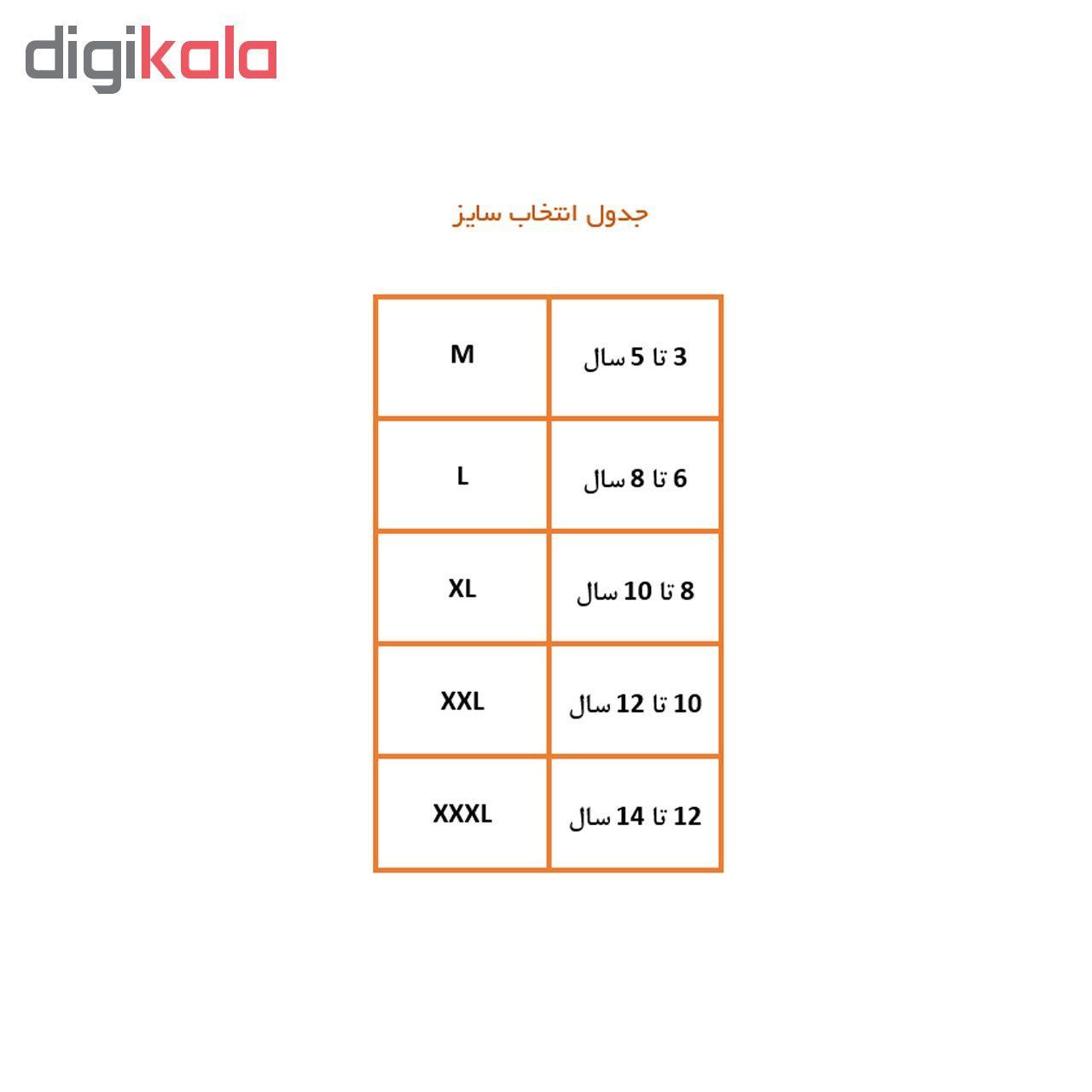 شورت دخترانه کد K2 مجموعه 3 عددی -  - 6