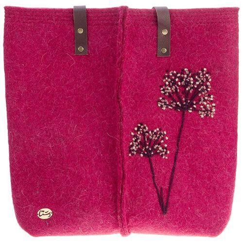کیف نمدی گروه دستا گلدوزی شده سایز بزرگ