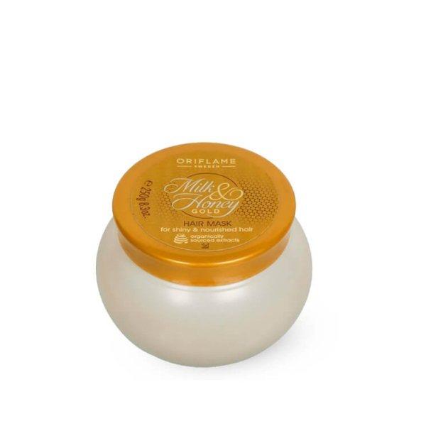 ماسک مو اوریفلیم مدل Milk & Honey Gold حجم 250 میلی لیتر