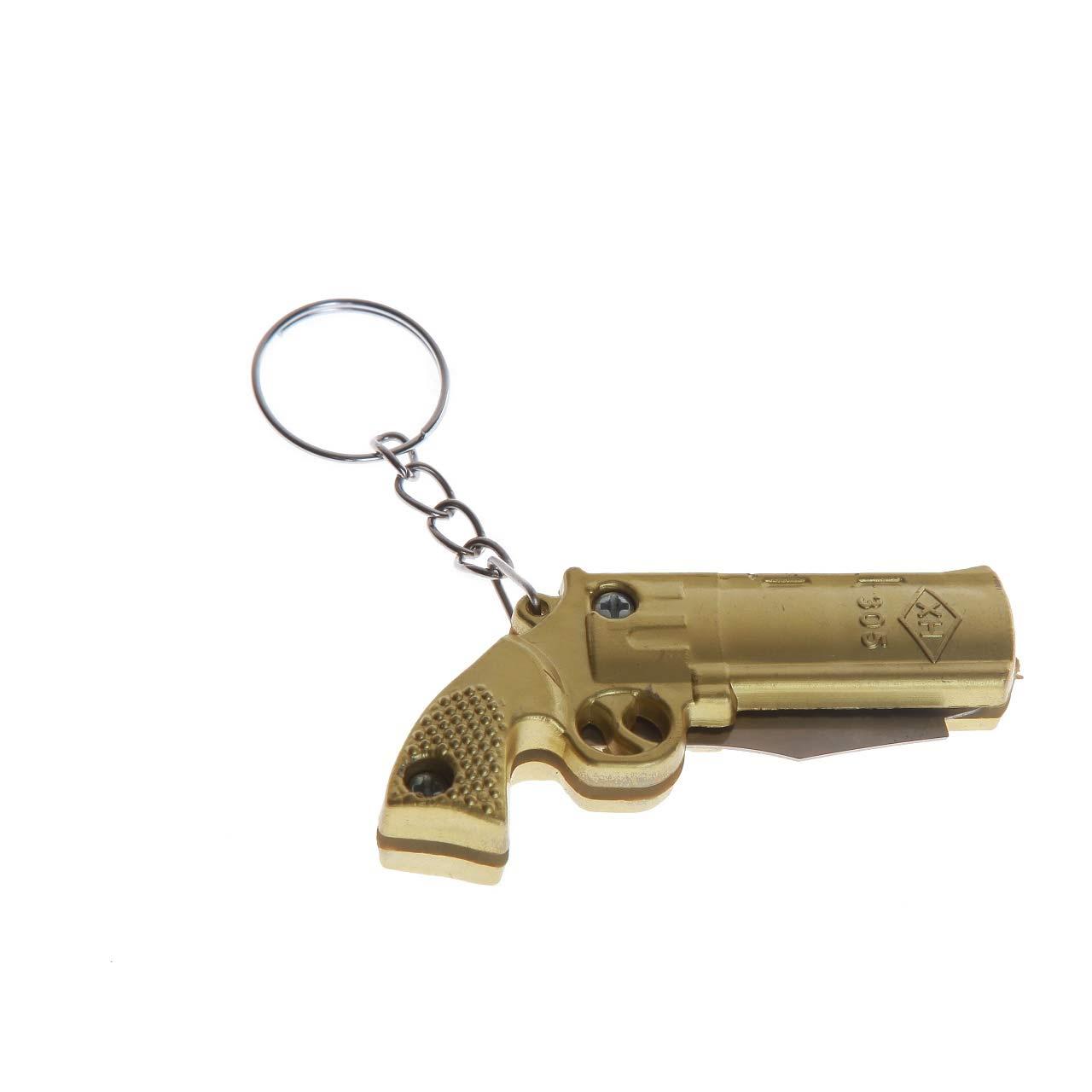 جاسوییچی طرح تفنگ مدل چاقو ضامن دار کد 14