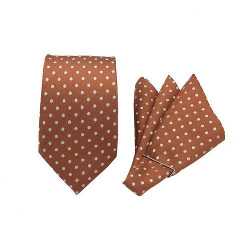 ست کراوات و دستمال جیب مدل KDN-008