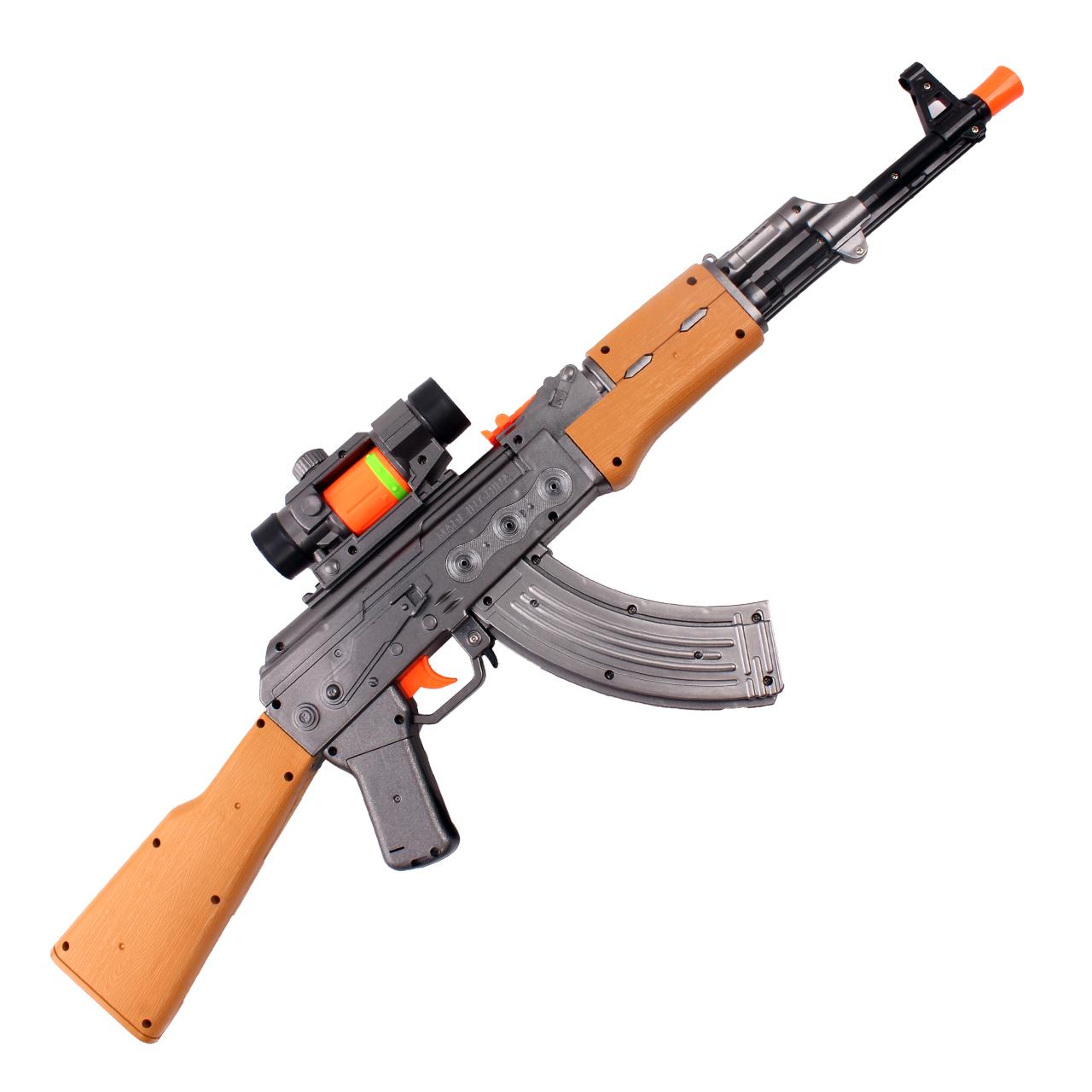 تفنگ اسباب بازی مدل AK47
