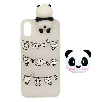 کاور مدل panda-01 مناسب برای گوشی موبایل سامسونگ galaxy A01 core به همراه پایه نگهدارنده