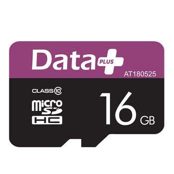 کارت حافظه microSDHC دیتاپلاس مدل AT180525  کلاس 10 ظرفیت 16 گیگابایت