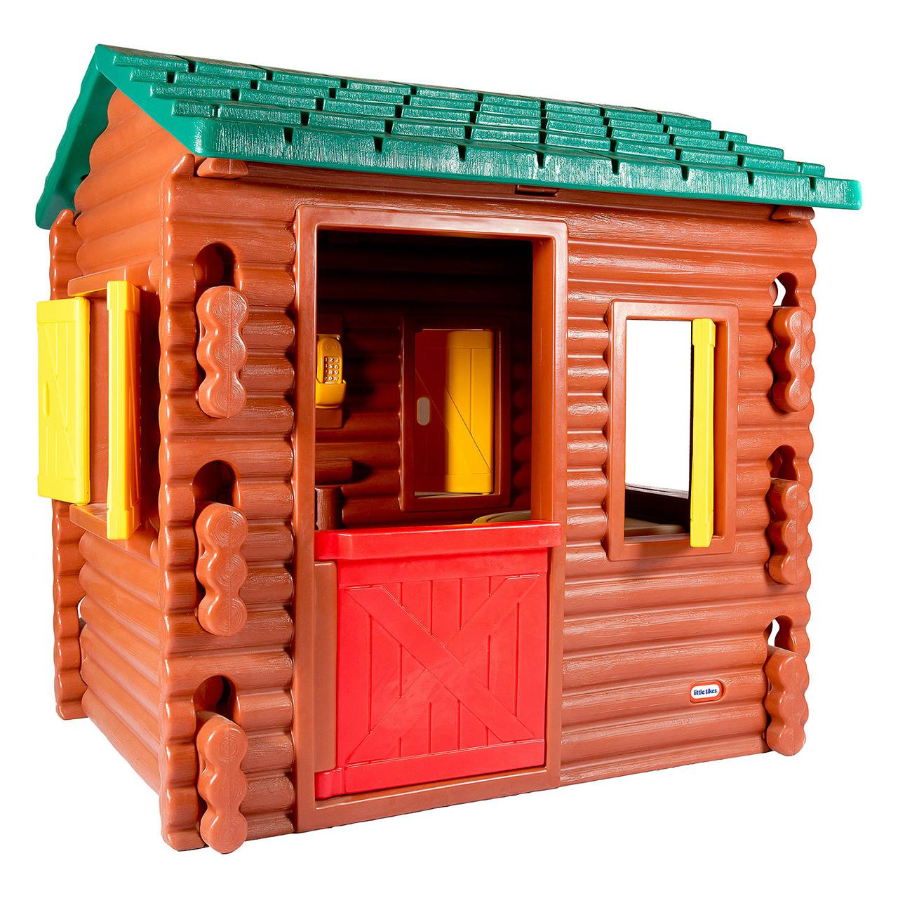 کلبه بازی لیتل تایکس مدل Log Cabin کد 0050743048692