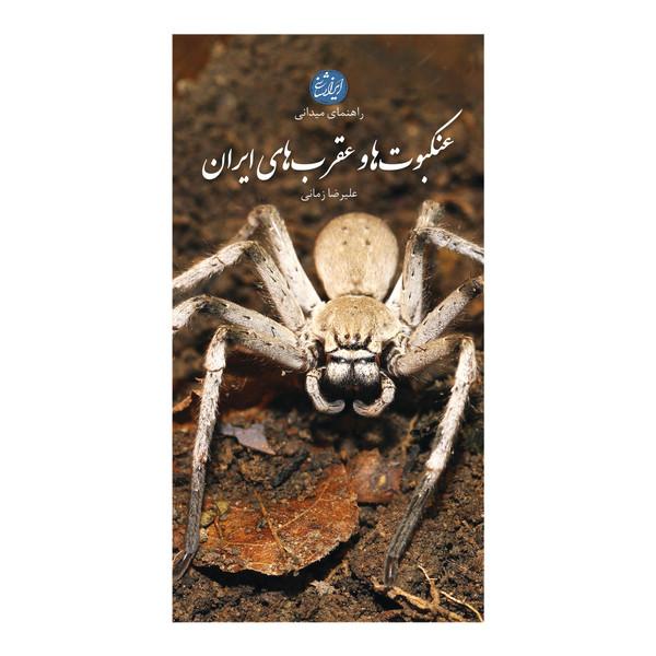 کتاب عنکبوت ها و عقرب های ایران اثر علیرضا زمانی انتشارات ایرانشناسی