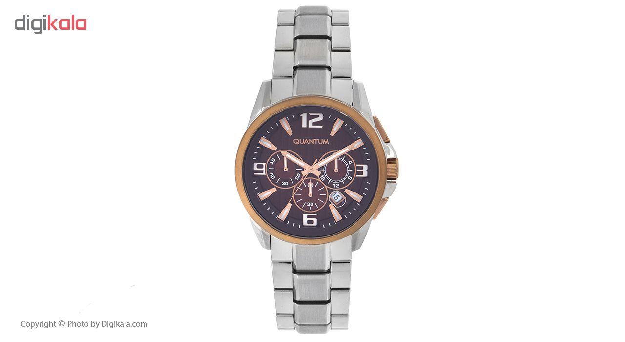 ساعت مچی عقربه ای مردانه کوانتوم مدل ADG416.540              ارزان