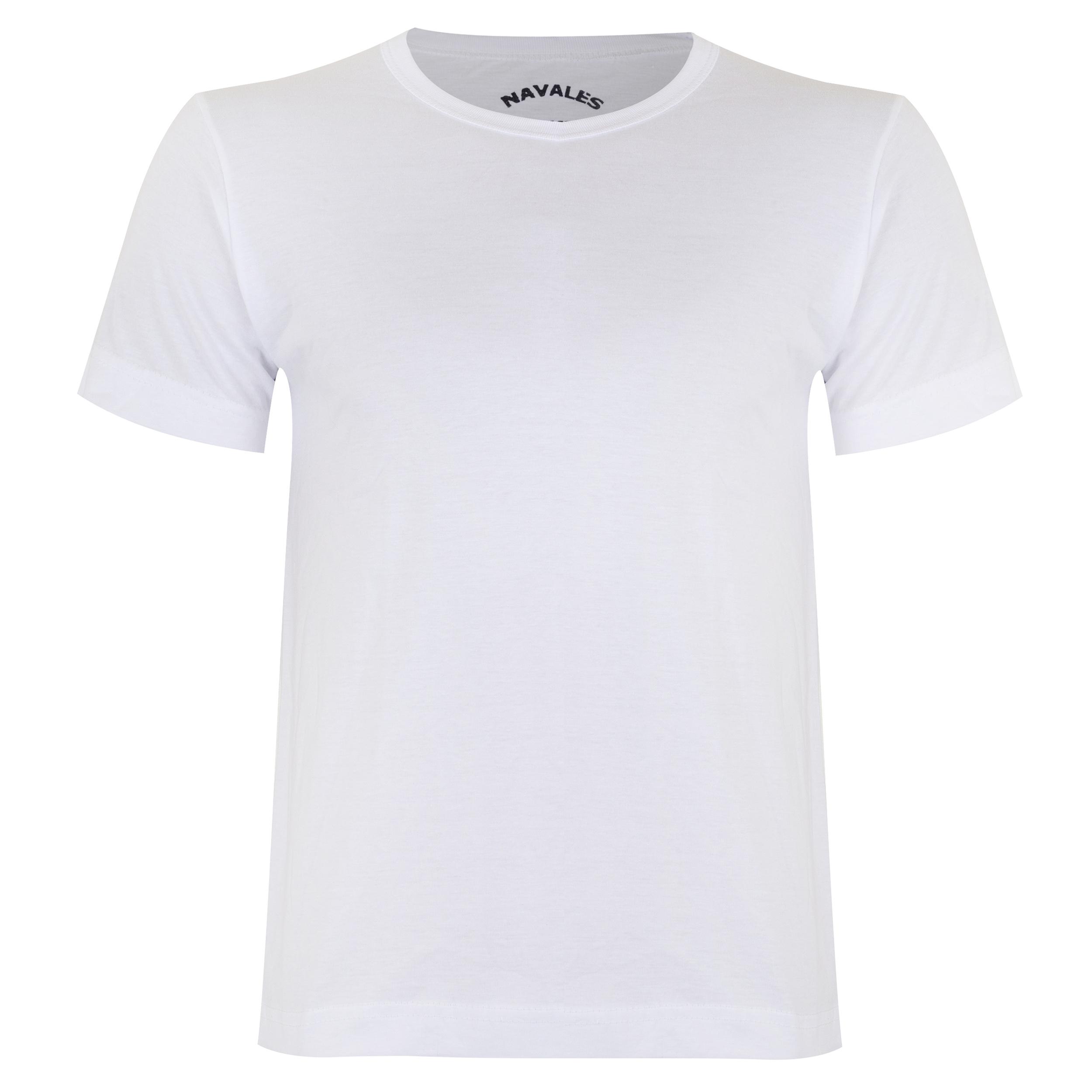 تیشرت مردانه سایز بزرگ ناوالس مدل simple colors03