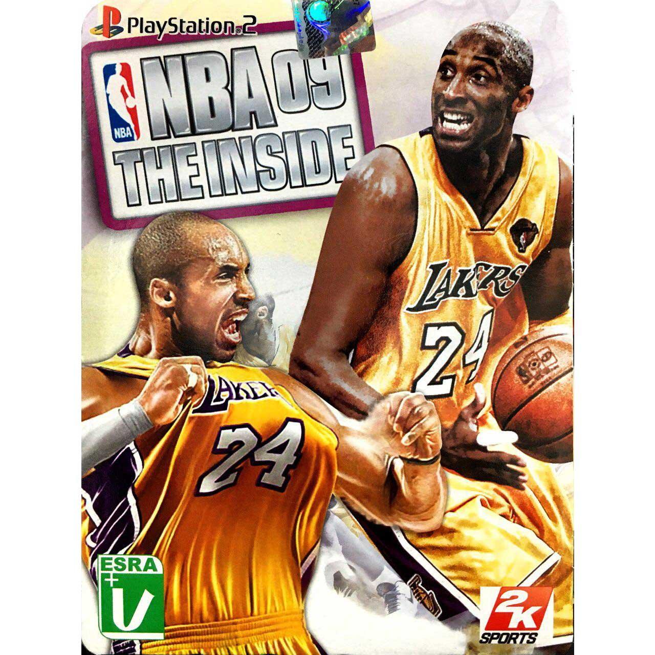 بازی NBA 09 the inside مخصوص پلی استیشن 2