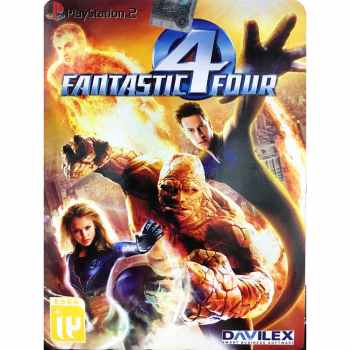 بازی Fantastic Four مخصوص پلی استیشن 2