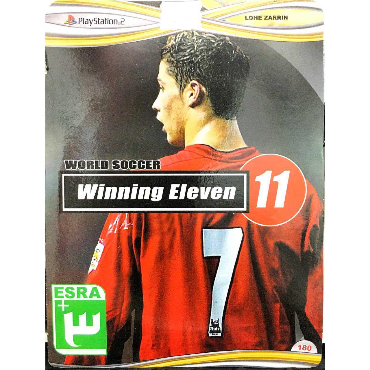 خرید اینترنتی بازی Winning Eleven 11 مخصوص پلی استیشن 2 اورجینال
