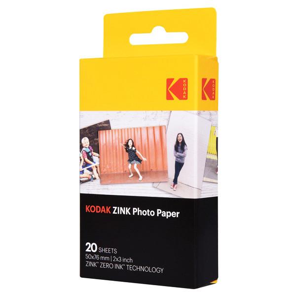 کاغذ چاپ سریع کداک مدل Zink Paper بسته 20 عددی