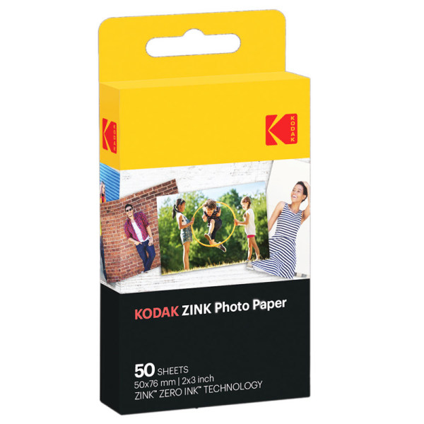 کاغذ چاپ سریع کداک مدل Zink Paper  بسته 50 عددی
