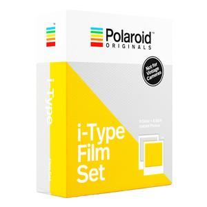 کاغذ چاپ سریع پولاروید مدل i-type Film Set بسته 16 عددی