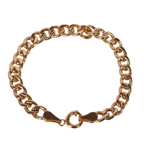 دستبند طلا 18 عیار گالری مرجان طرح کارتیه مدل 0837