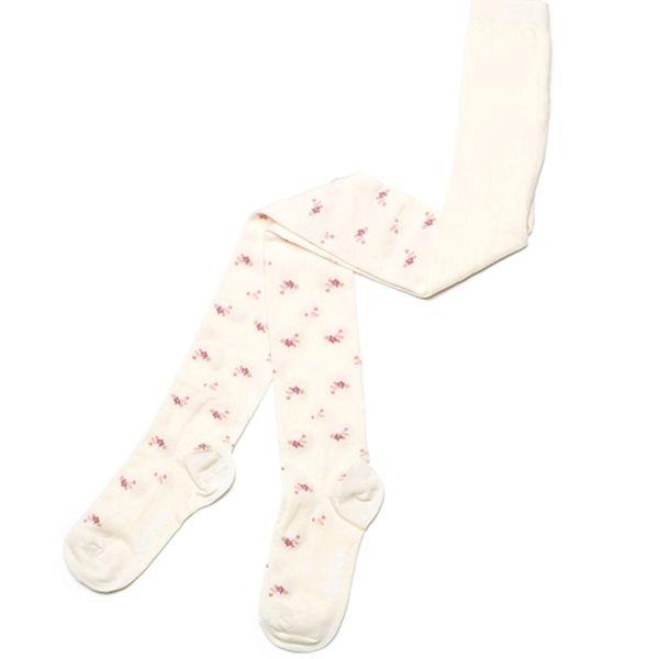 جوراب شلواری دخترانه کنته کیدز مدل گلدار 033