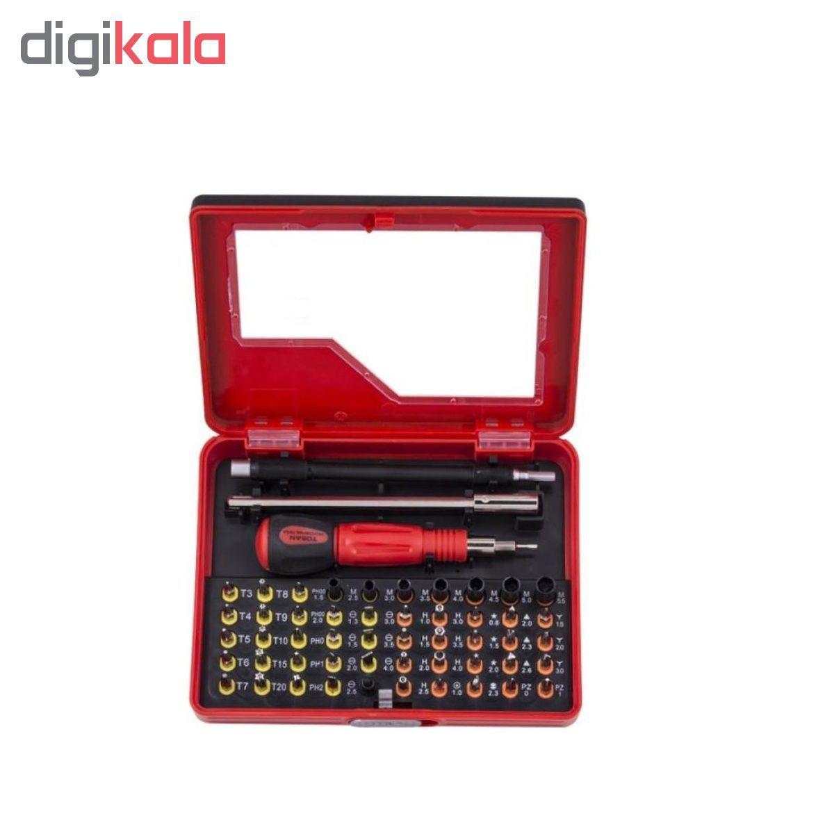 مجموعه  54 عددی پیچ گوشنی توسن مدل T8316-S54 main 1 1